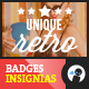 8 Unique Retro Badges Insignias VOL1 - GraphicRiver Item for Sale
