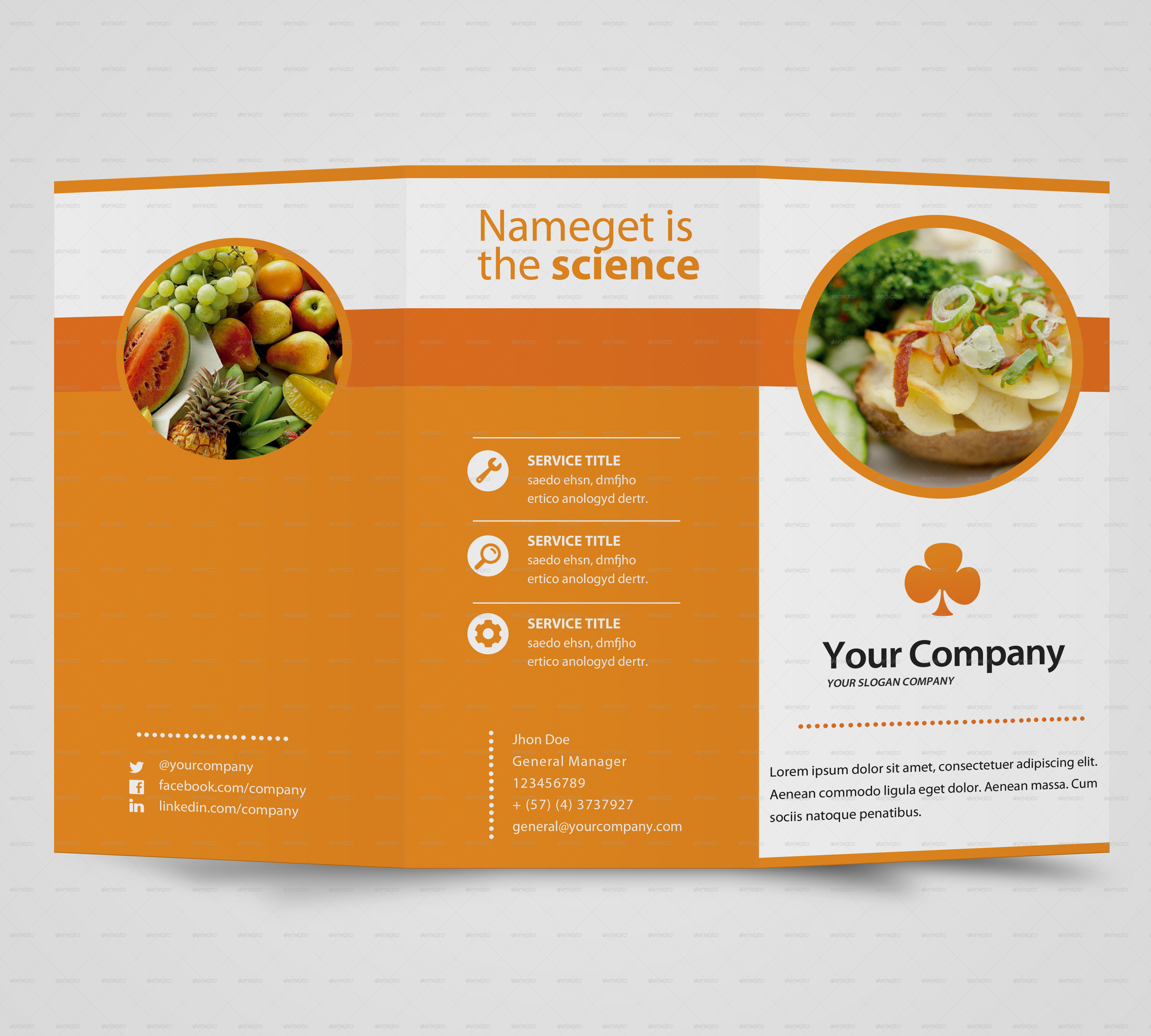 Multipurpose Brochure Template By Frankie911 Graphicriver