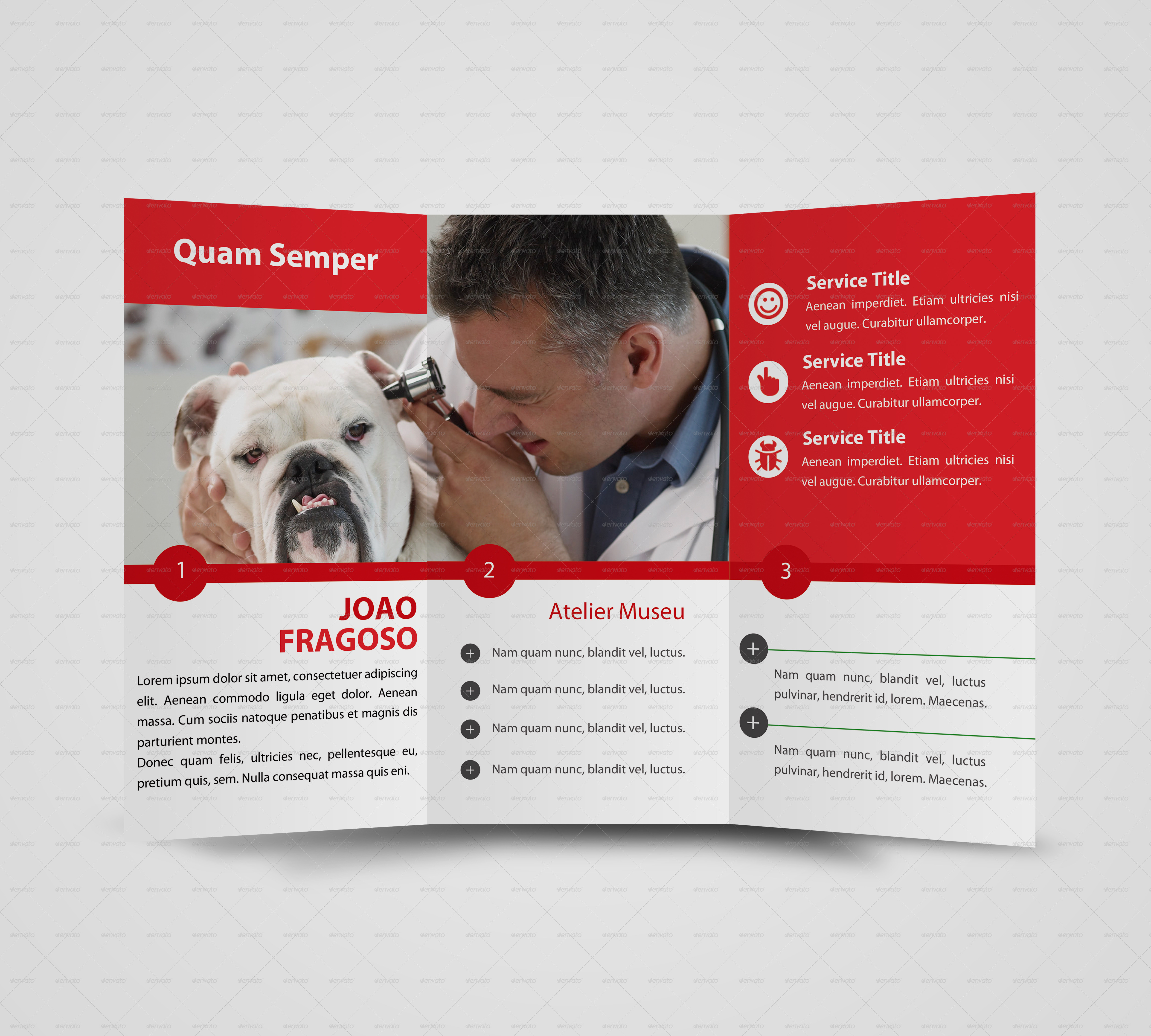 Multipurpose Brochure Template by Frankie911 | GraphicRiver