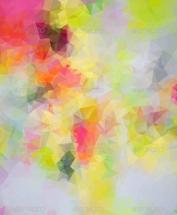 Abstract Triangle Background - Backgrounds Decorative