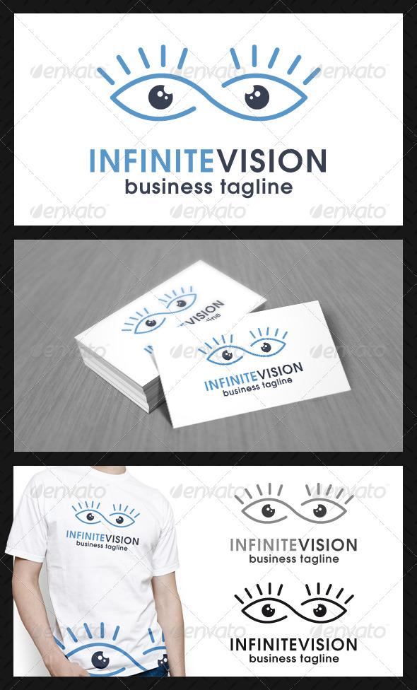 Infinite Eye Vision Logo Template - Humans Logo Templates