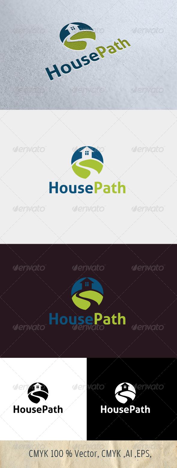 HousePath - Symbols Logo Templates