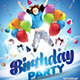 Kids Party Flyer Themes  - GraphicRiver Item for Sale