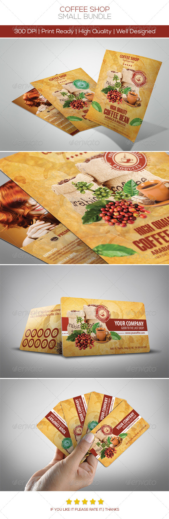 Coffee Bundle 1 - Restaurant Flyers