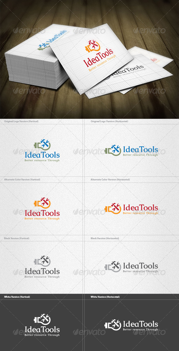 Idea Tools Logo - Objects Logo Templates