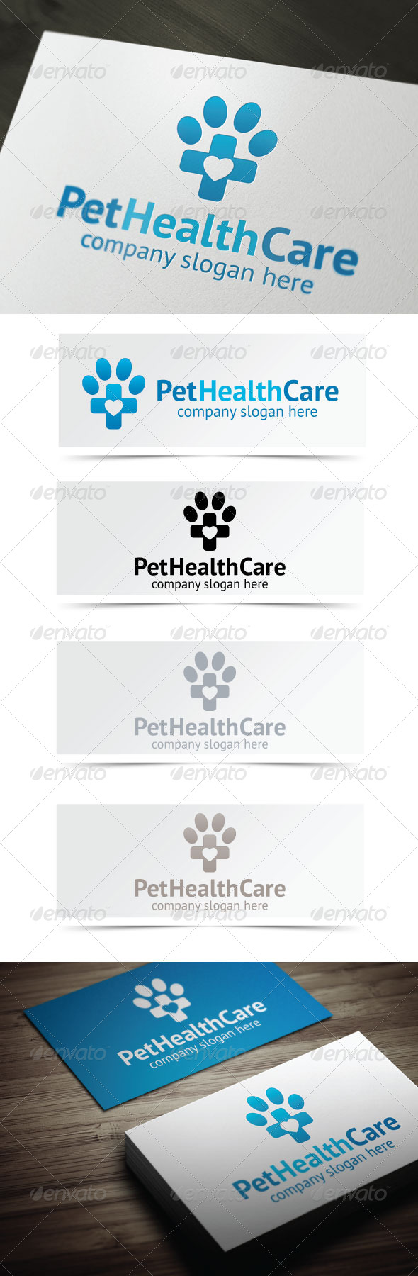 Pet Health Care - Animals Logo Templates
