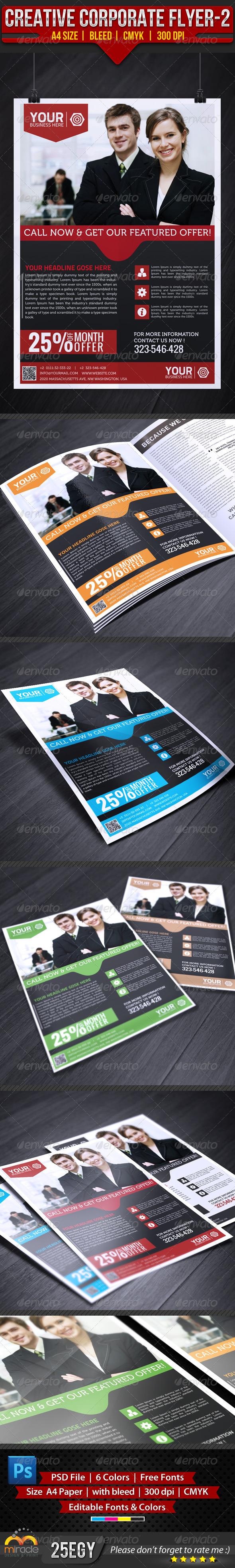 Creative Corporate Flyer 2 - Corporate Flyers