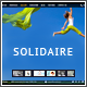 Solidaire – Responsive one page Creative Template
