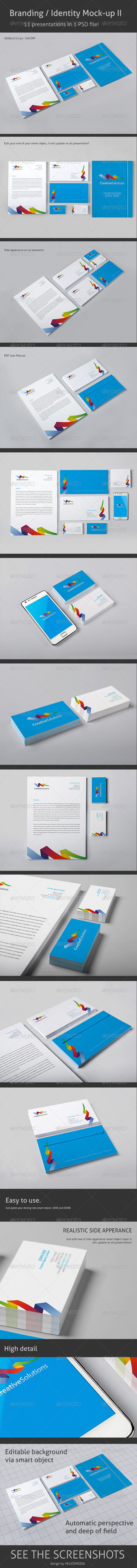 Branding / Identity Mock-up 2 - Stationery Print
