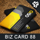Business Card Design 88 - GraphicRiver Item for Sale