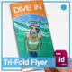 Diving Tri-Fold Brochure - GraphicRiver Item for Sale