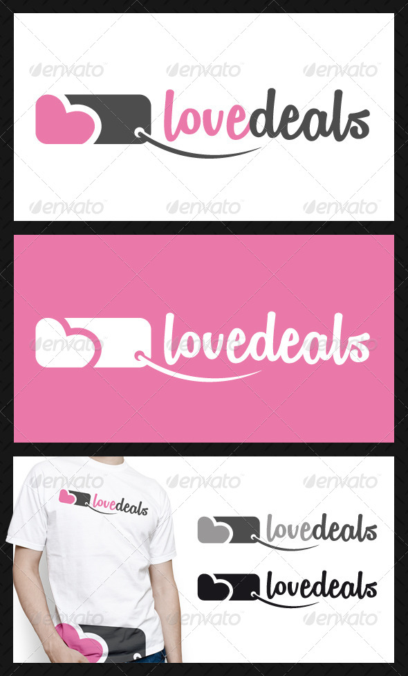 Love Deals Logo Template - Objects Logo Templates