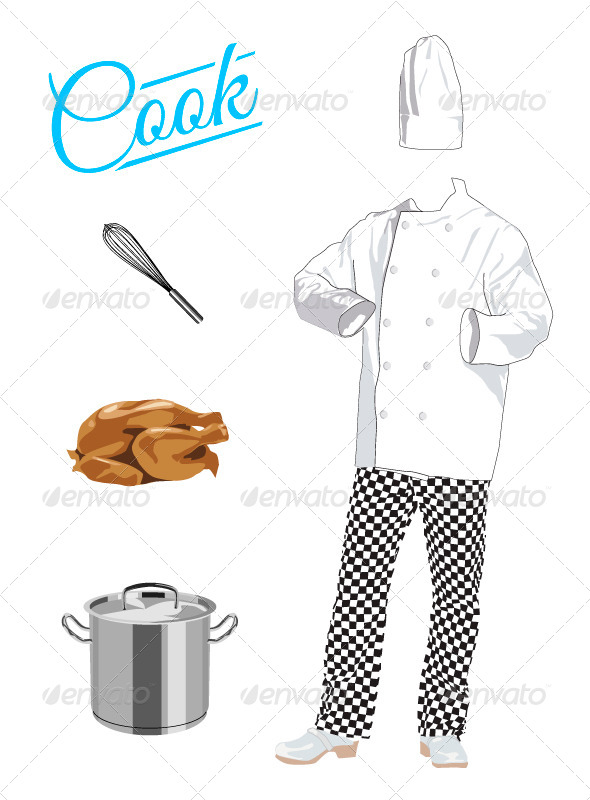 Cook - Food Objects
