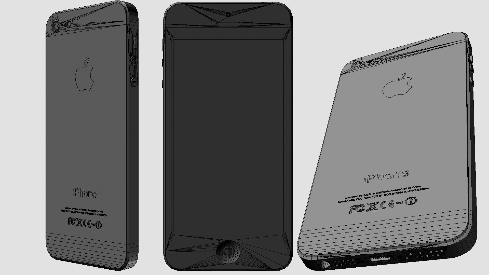 IPhone 5 Slate Black Vray