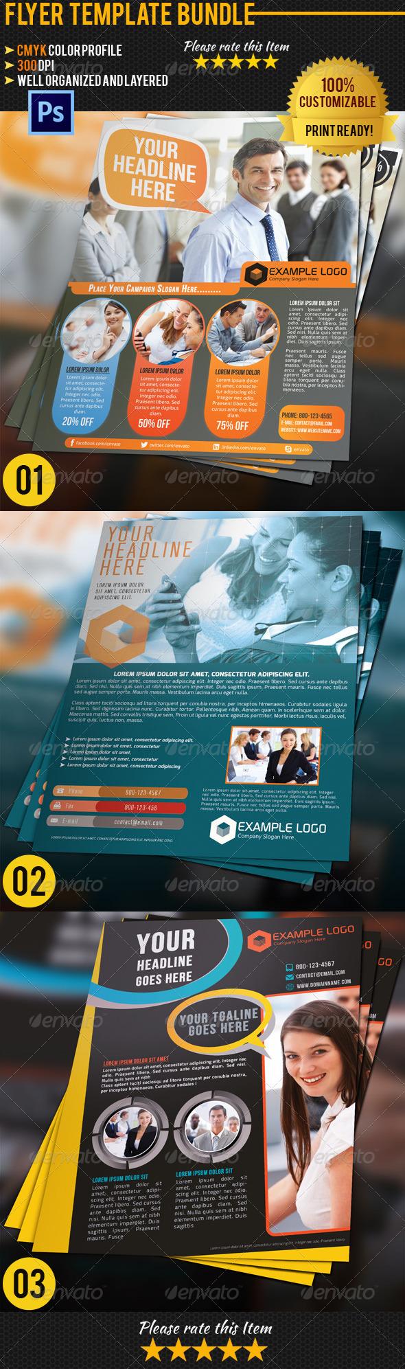 Corporate Business Flyer Bundle 02 - Corporate Flyers