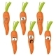Emotion Cartoon Carrot Vegetables - GraphicRiver Item for Sale