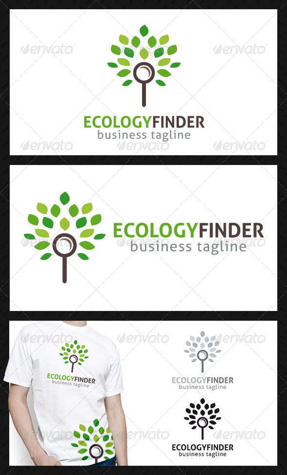 Eco Finder Logo Template - Nature Logo Templates