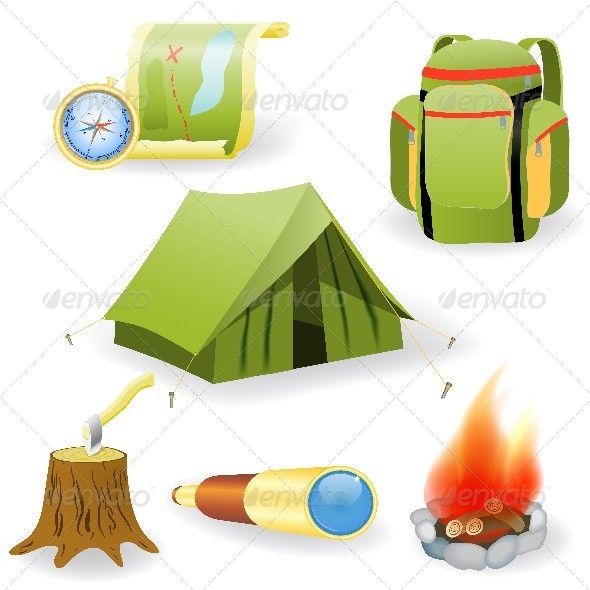 Camping Collection - Man-made Objects Objects