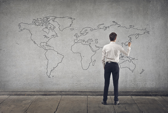 map of the world - Stock Photo - Images