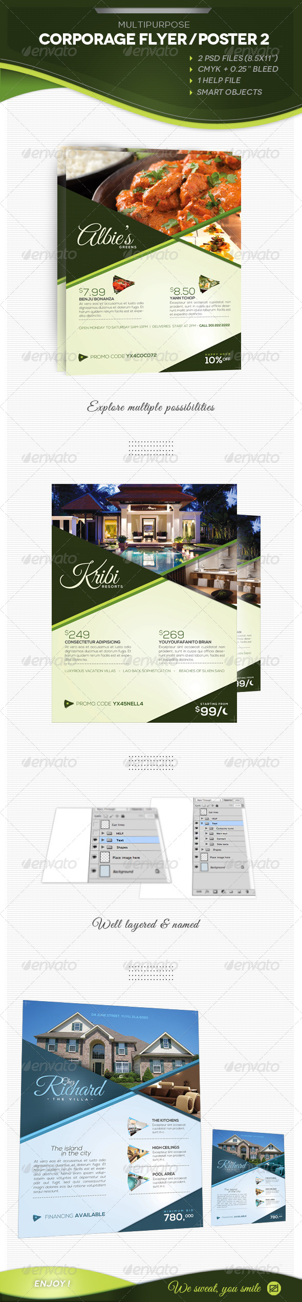 Multipurpose Corporate Flyer 2 - Corporate Flyers