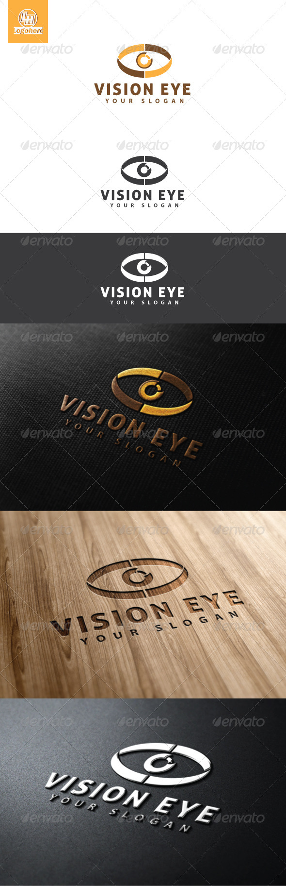 Vision Eye Logo Template - Humans Logo Templates