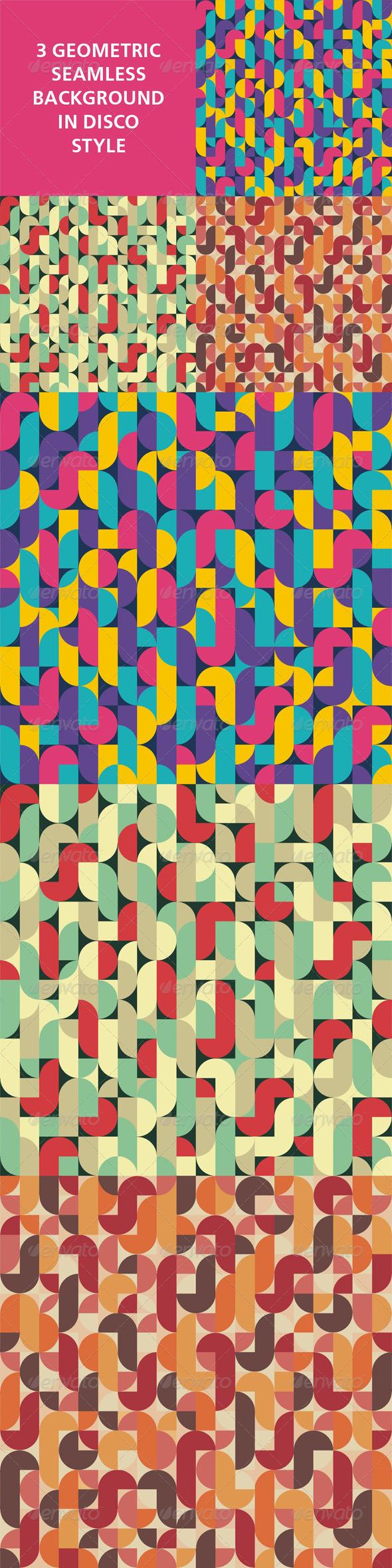Geometric Seamless Background 03 - Backgrounds Decorative