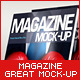 Photorealistic Magazine Mock-Up - GraphicRiver Item for Sale