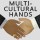 Multicultural Businessmen Hand Gestures