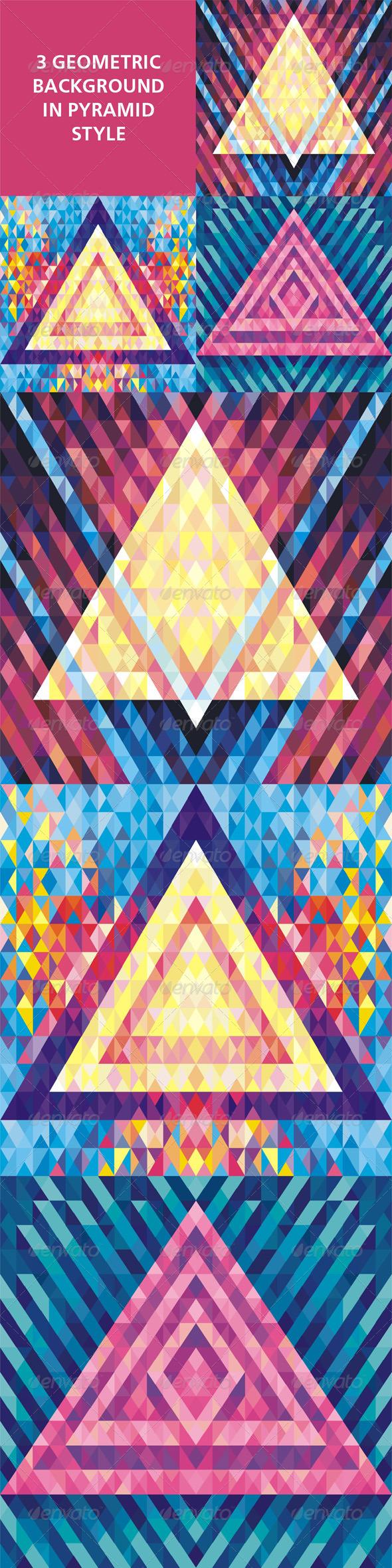 Geometric Background 04 - Backgrounds Decorative