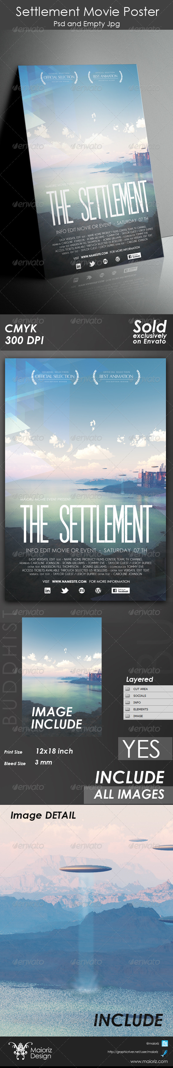 Settlement Movie Poster - Miscellaneous Events