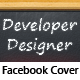 Developer - Designer BlackBoard - FB Cover - GraphicRiver Item for Sale