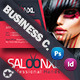 Beauty Salon Business Card Template - GraphicRiver Item for Sale