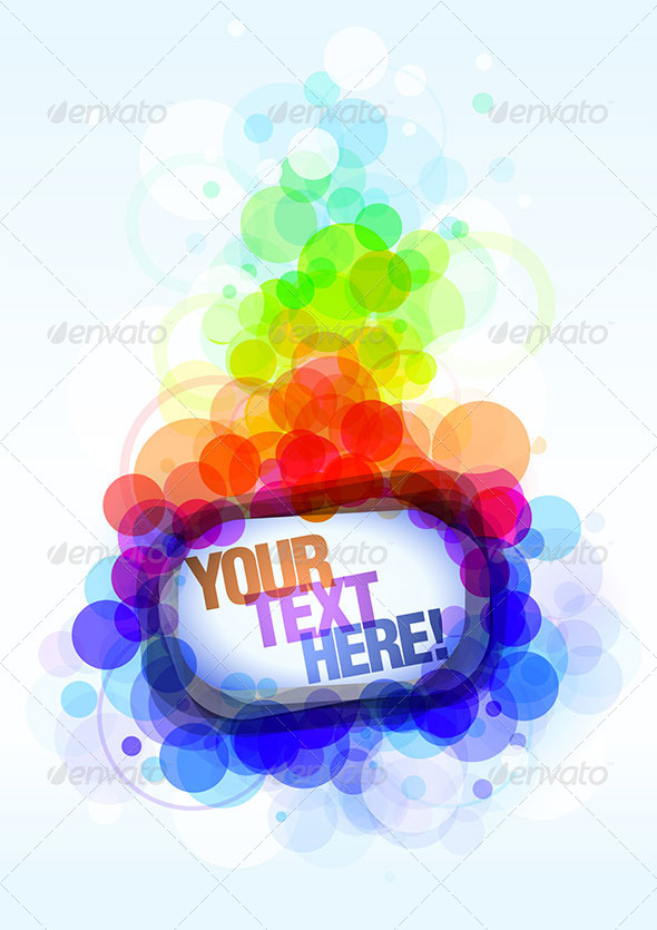 Colorful Poster Template - Backgrounds Decorative