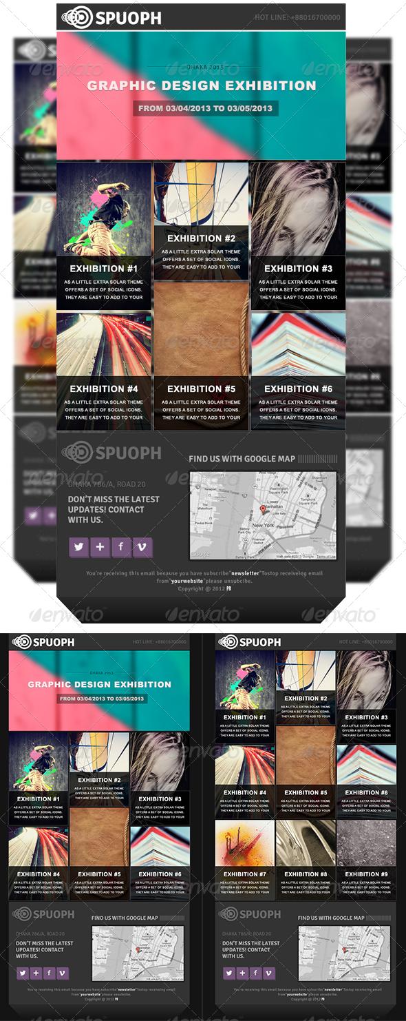 Spuoph Newsletter - E-newsletters Web Elements