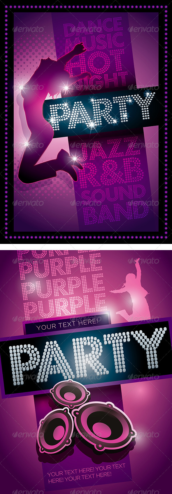 Party Poster Template - Miscellaneous Vectors