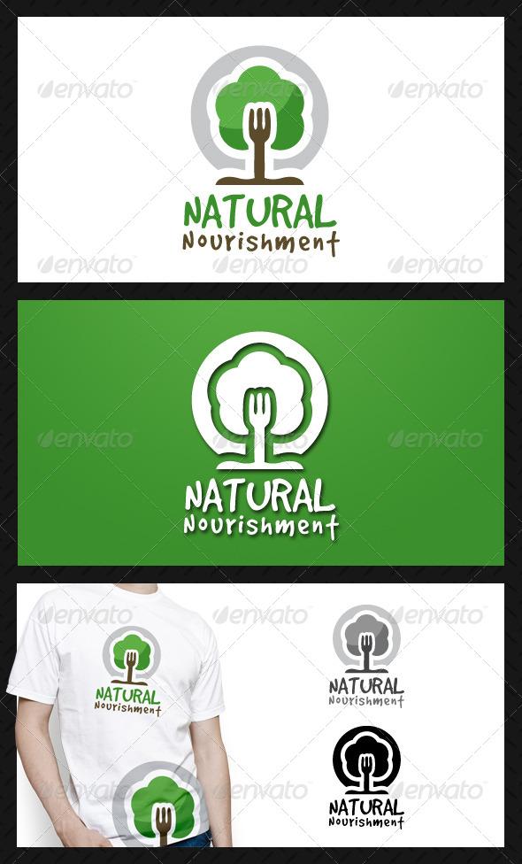 Natural Food Logo Template - Food Logo Templates