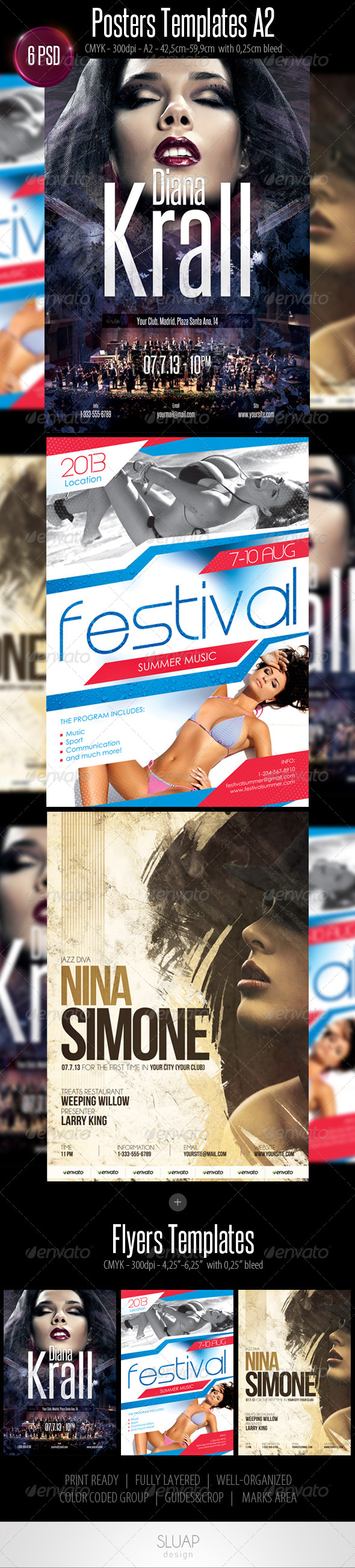 Posters & Flyers Templates - Events Flyers