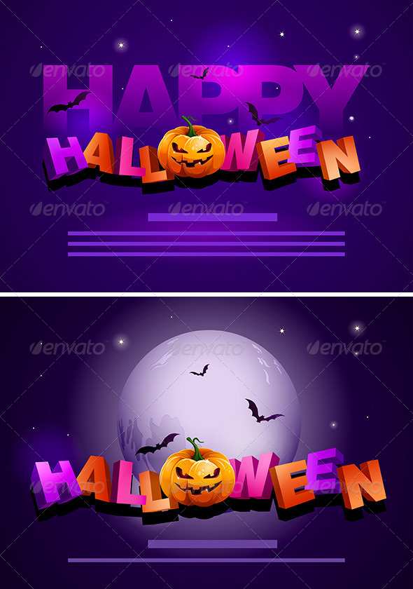 Halloween Poster Template - Halloween Seasons/Holidays