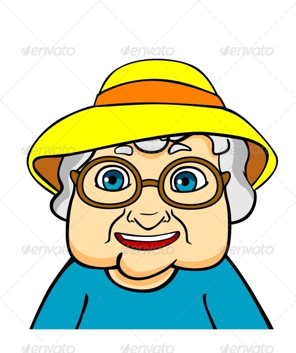 Old Grandmother - People Characters