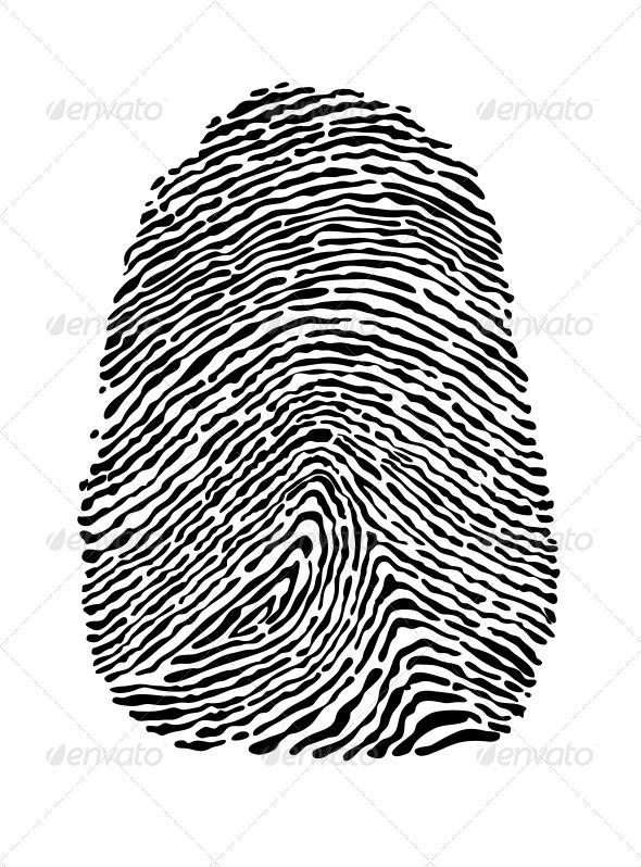 People Fingerprint - Miscellaneous Vectors