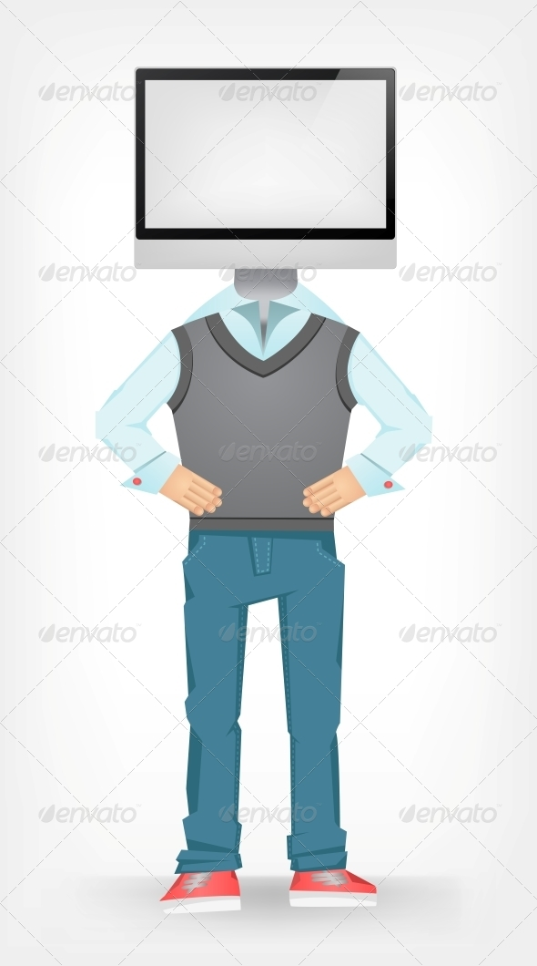 Computer Guy - People Characters