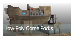 Low Poly Game Packs