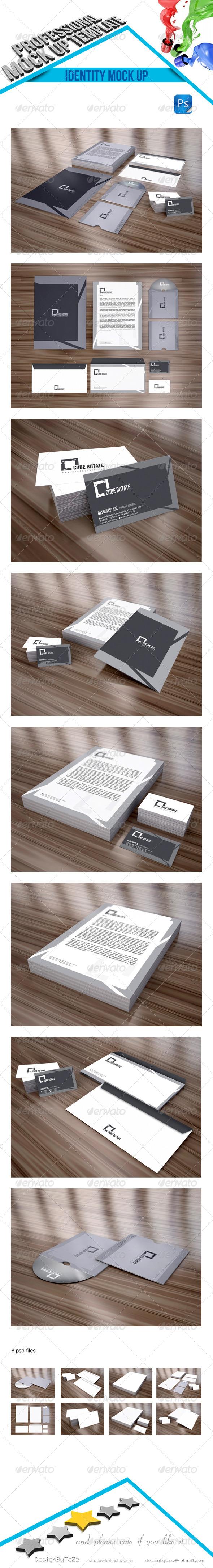 Stationery Branding Mock-Up v2 - Stationery Print