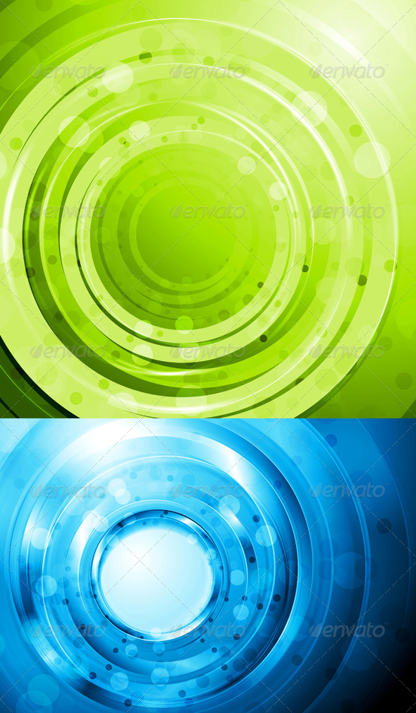 Bright Vector Abstract Design - Backgrounds Decorative