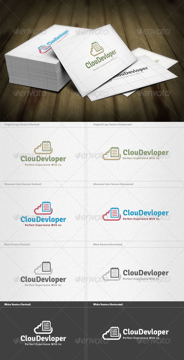 Cloud Developer Logo - Symbols Logo Templates