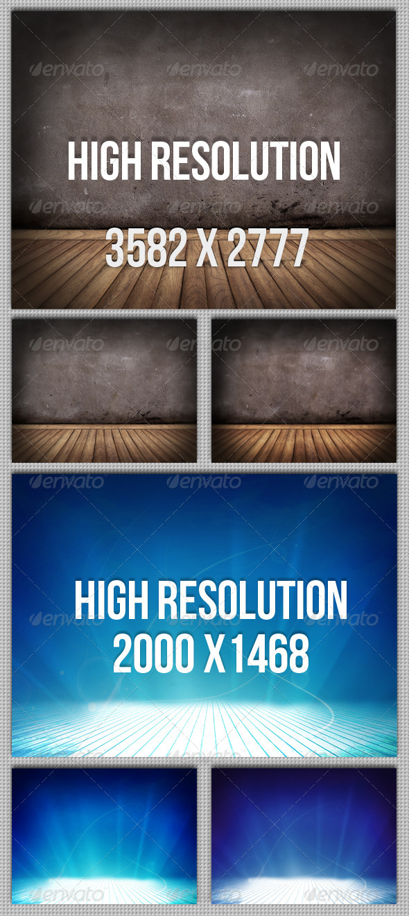 6 Floor and Wall Backgrounds - Miscellaneous Backgrounds