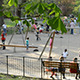 Kids And Parents At Playground - VideoHive Item for Sale