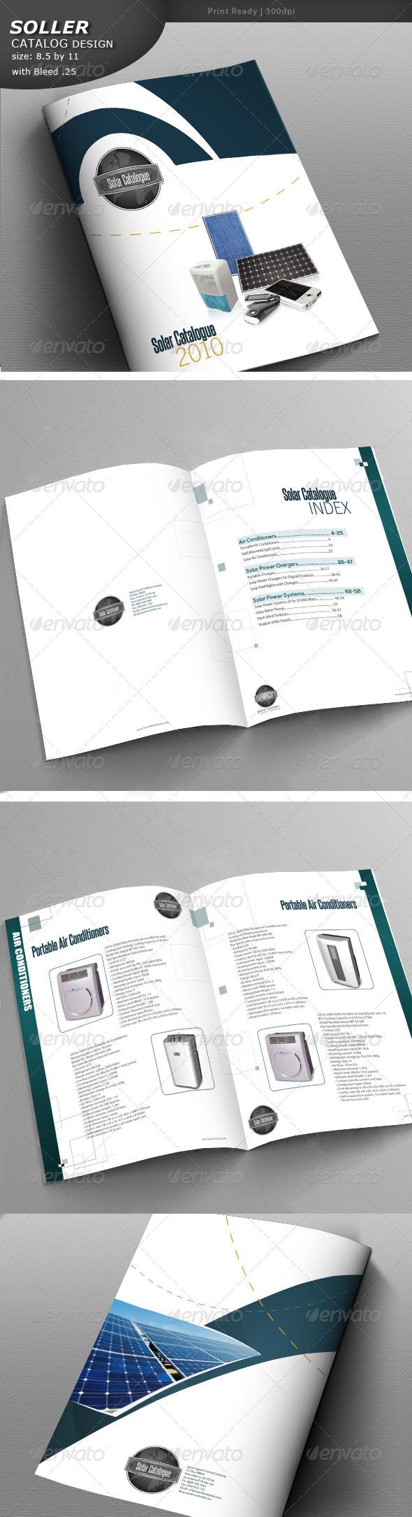 Solar Catalog Design  - Catalogs Brochures