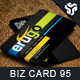 Business Card Design 95 - GraphicRiver Item for Sale