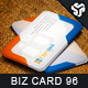 Business Card Design 96 - GraphicRiver Item for Sale